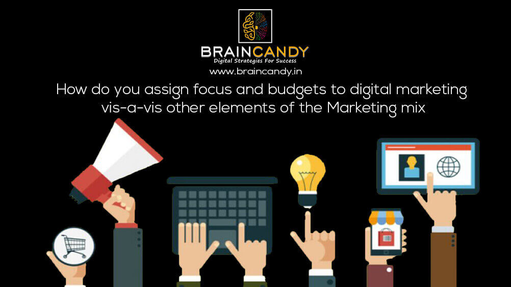 budgets to digital marketing
